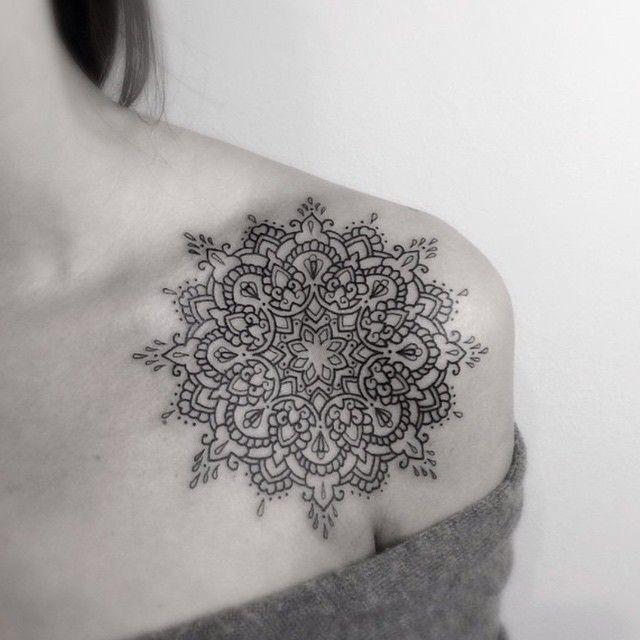 Mandala tattoo: