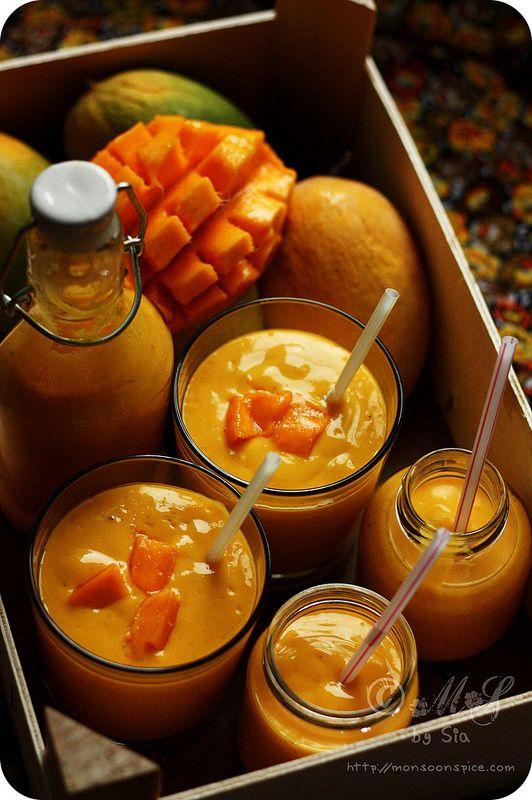 Mango Lassi Recipe | How to Make Punjabi Mango Lassi - Monsoon Spice | Unveil the Magic of Spices...
