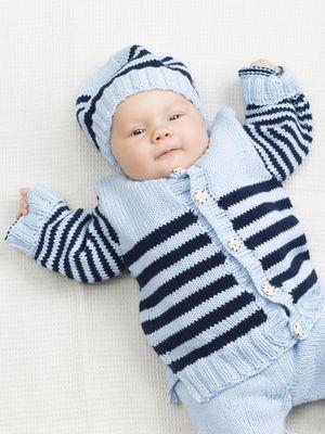 Vauvan raitajakku Novita Cotton Bamboo, Novita Kesä 2015