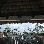 Hotel Camino Real Tikal - a beautiful spot for breakfast
