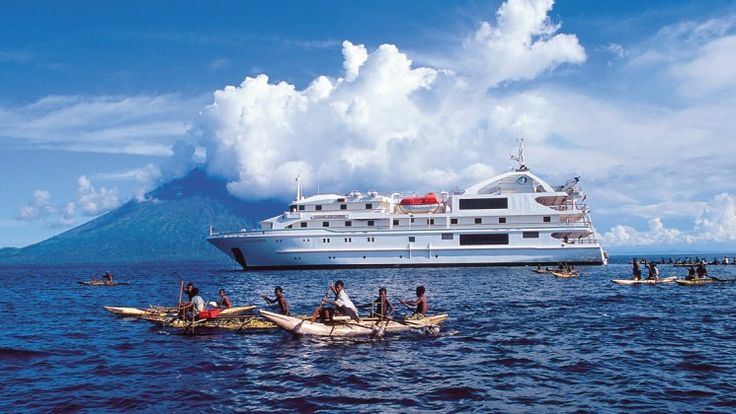 Reach into the heart and soul of Papua New Guinea on this small ship cruise, and see your expectations of this magical place and its people soar.