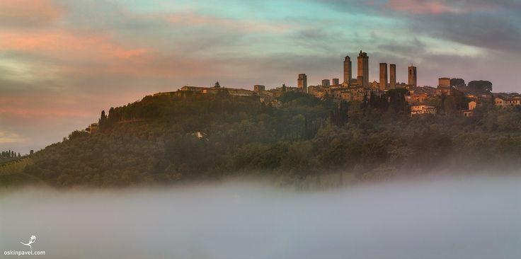 #195. San Gimignano. Tuscany. Italy. - http://www.oskinpavel.com/