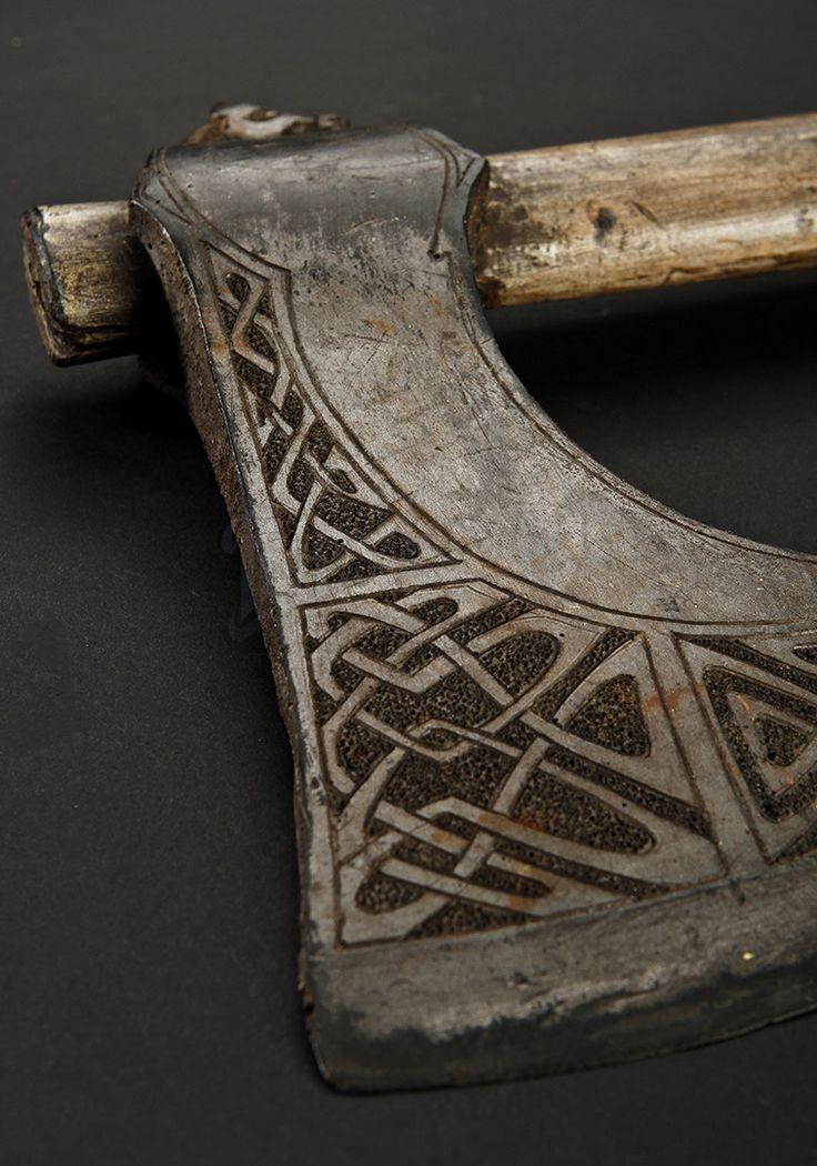 Viking Axe Detail