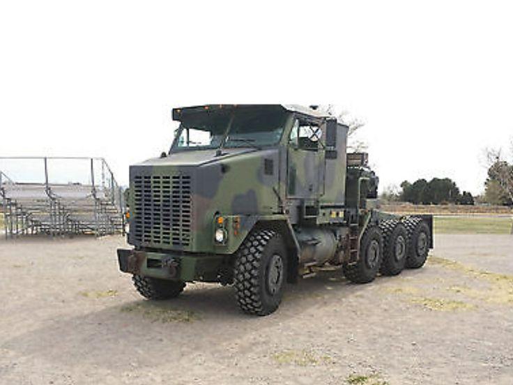 Army Heavy Duty Trucks : Oshkosh m heavy duty truck army surplus fast