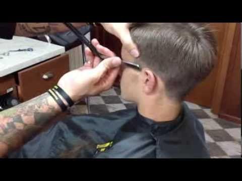 """Videotutorial tecnica taglio capelli """"lungo"""" a macchinetta - Hiro Barber Shop - YouTube"""