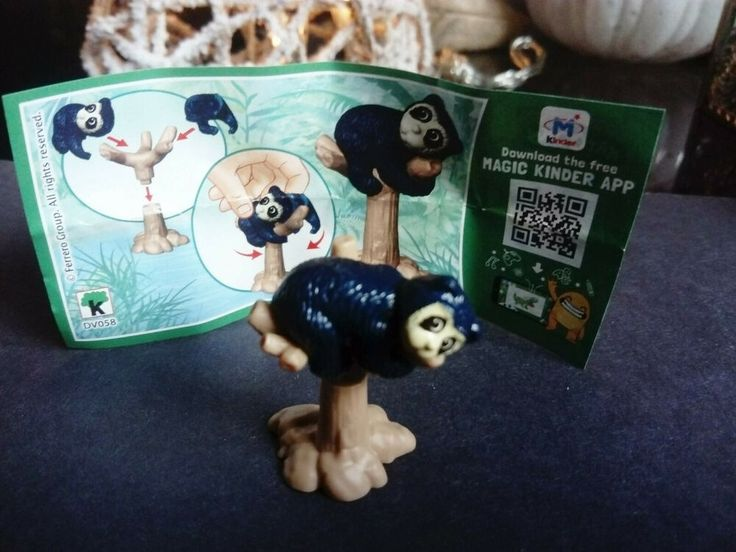 Kinder Egg Natoons Kinder Surprise Animal Adventures Spectacled Bear