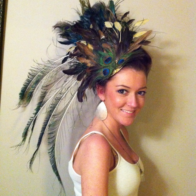 DIY hat for the VA Gold Cup races featuring @Brittany Collins!