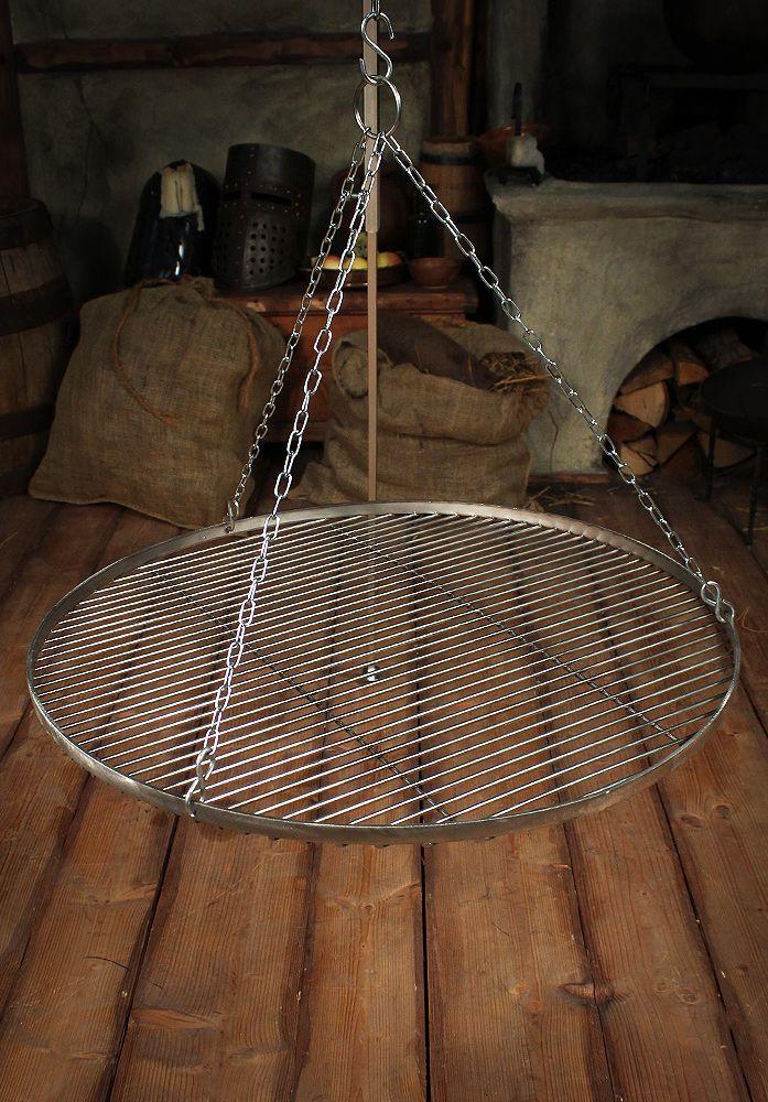 Grillrost 60cm, Edelstahl