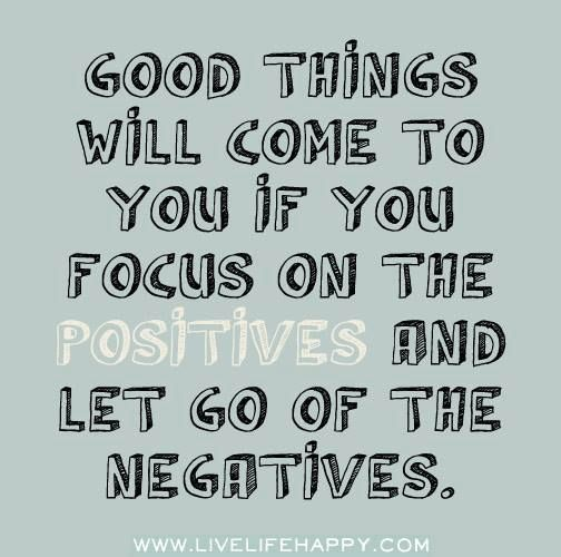 Think Positive Be Positive And Positive Things Will Happen 55094