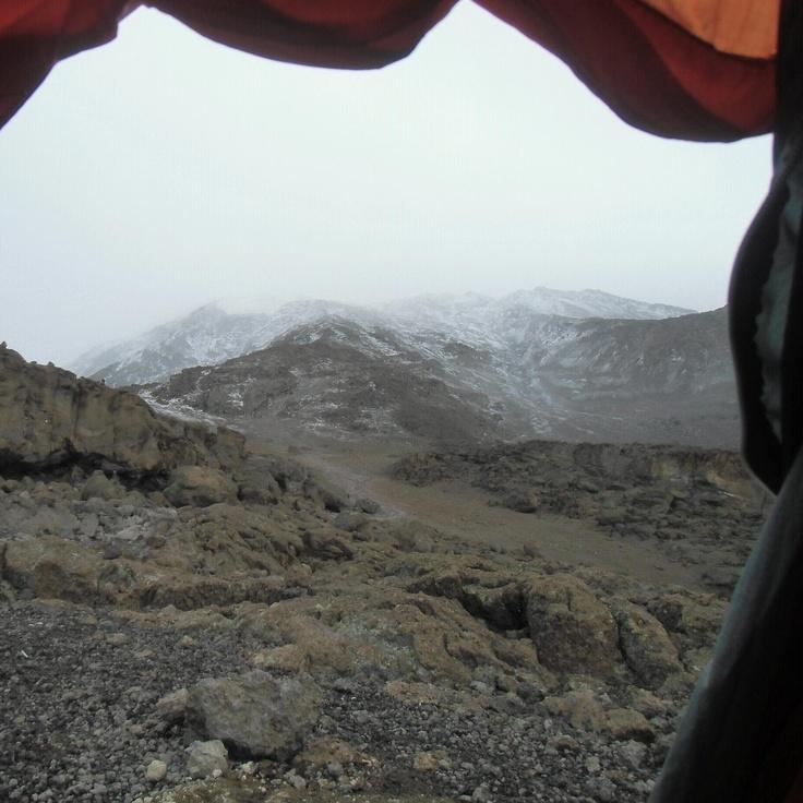 Last camp before summit