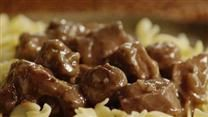 Beef Tips and Noodles can also ibe done in crockpot 4 hrs on high.