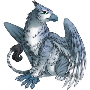 Silver tabby gryphon V2 from Celestial Vale, one of my favorite games which is now closed, although the owner is working on another site which may feature this art.