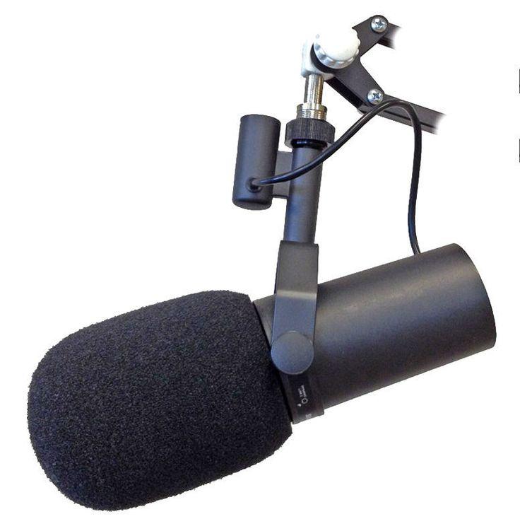 Mikrofon dynamiczny SM7B Shure | Nagłośnienie \ Mikrofony \ Dynamiczne | Sprzet-Dyskotekowy.pl - największy i najtańszy sklep internetowy z oświetleniem i nagłośnieniem w Polsce