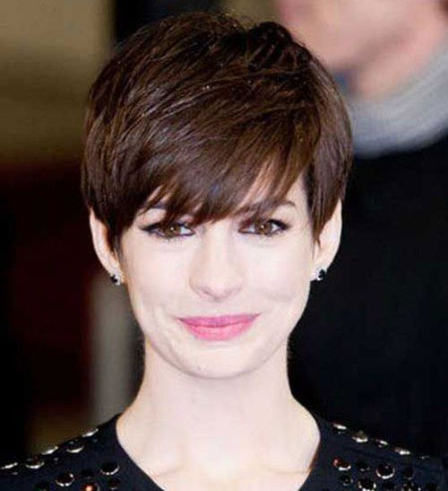 stacked haircuts with bangs 27 best pixie haircut with bangs for images on 3500