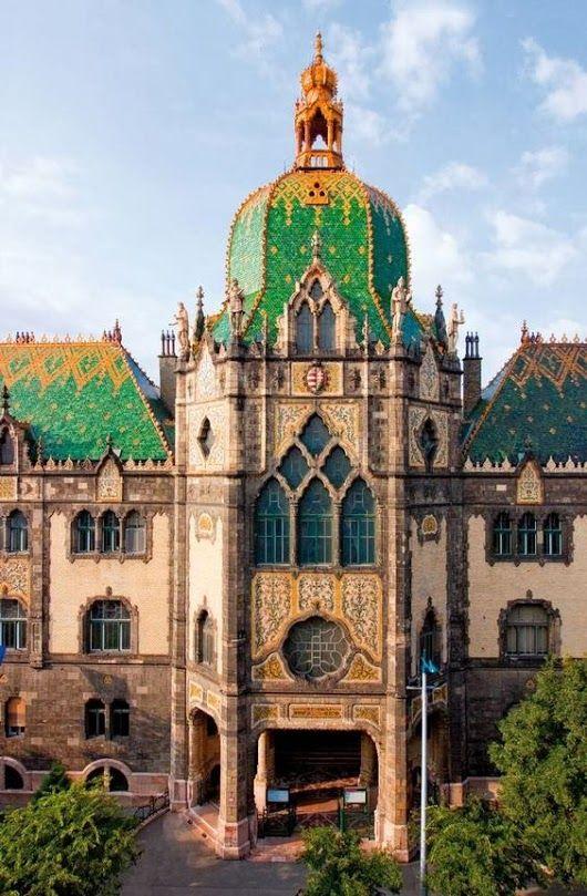 BUDAPEST -Iparművészeti Múzeum