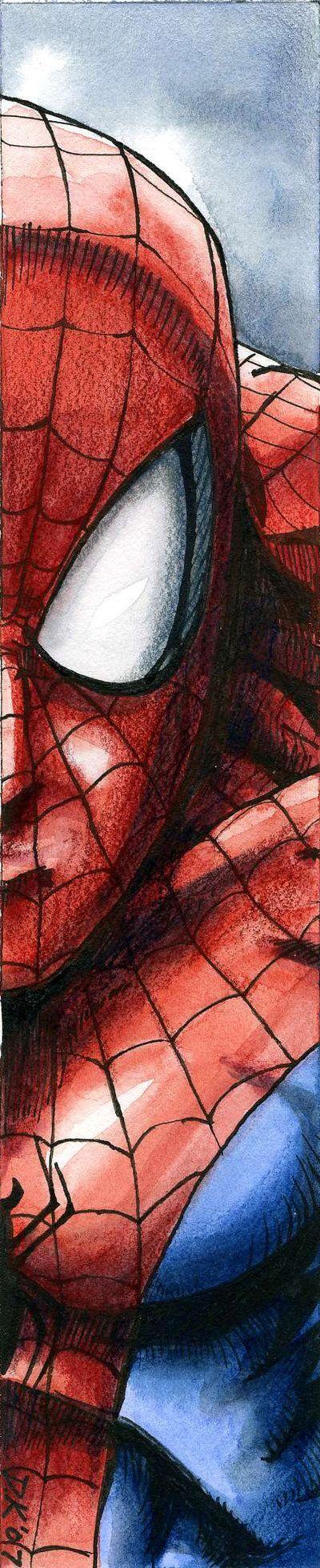 El mejor dibujo de el hombre araña