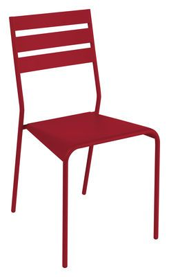 Chaise empilable Facto Piment - Fermob