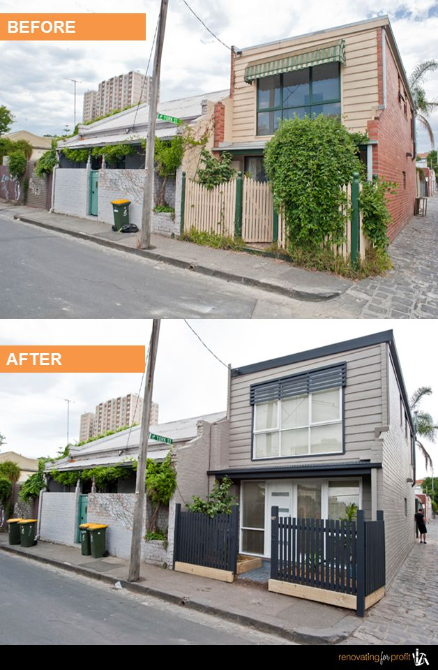9 best images about renovation before after photos for Outside renovation ideas