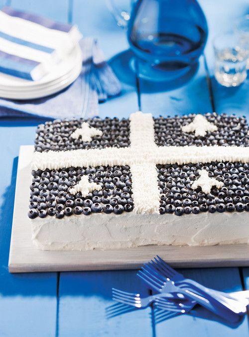 Gâteau aux couleurs du Québec Recettes | Ricardo