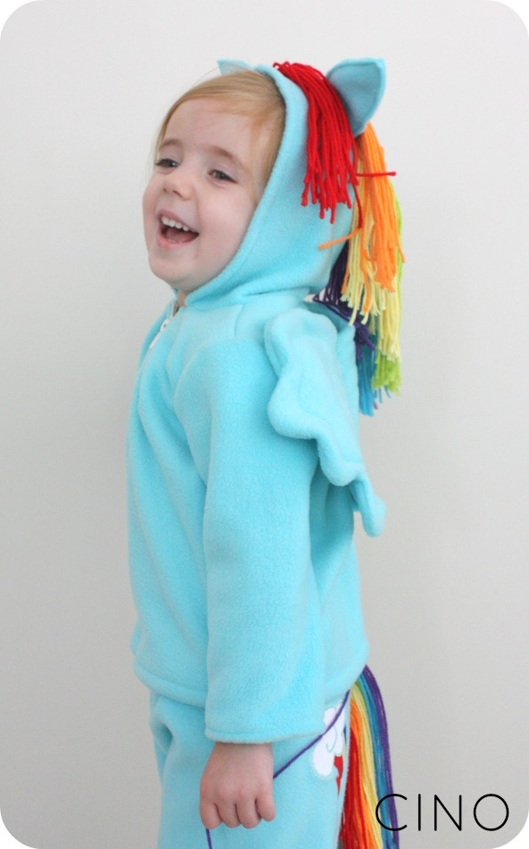 Girls Rainbow Dash Costume - My Little Pony - Party City ...