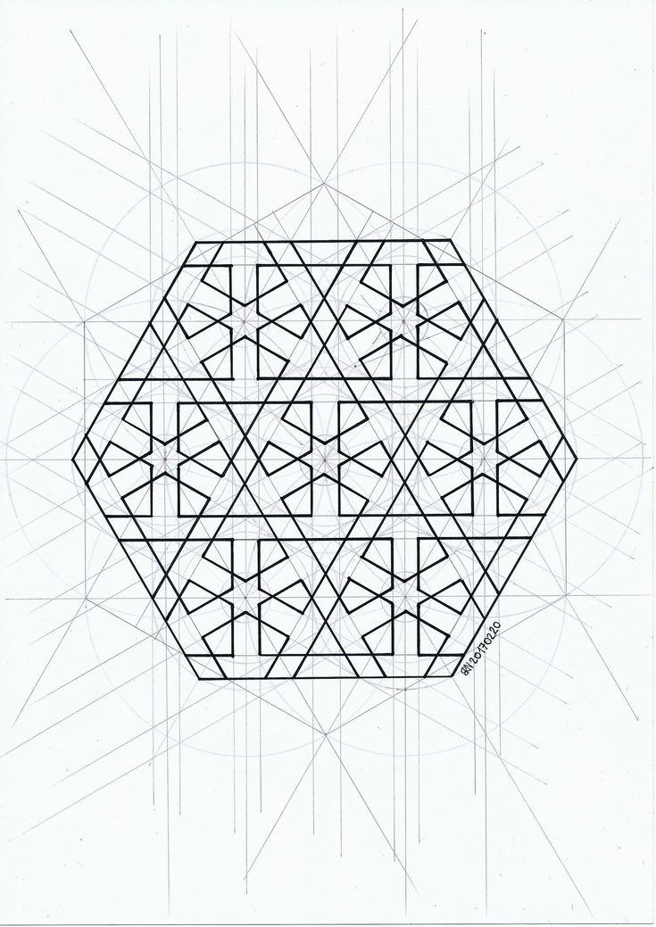 #islamicdesign #islamicpattern #islamicgeometry #arabianart #geometry #symmetry #pattern #handmade #mathart #regolo54