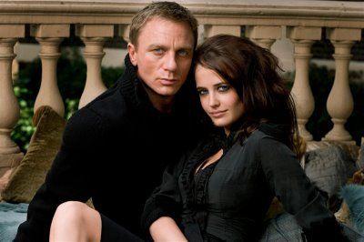 Eva Green and Daniel Craig...