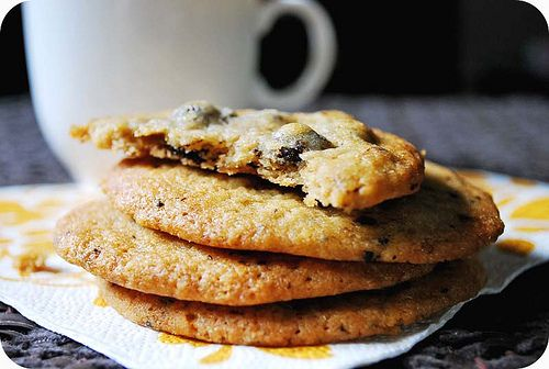 Espresso Chocolate Chip Cookies | Sweets & Sips | Pinterest