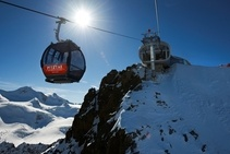 Wildspitzbahn, Pitztaler Alpen, Austria