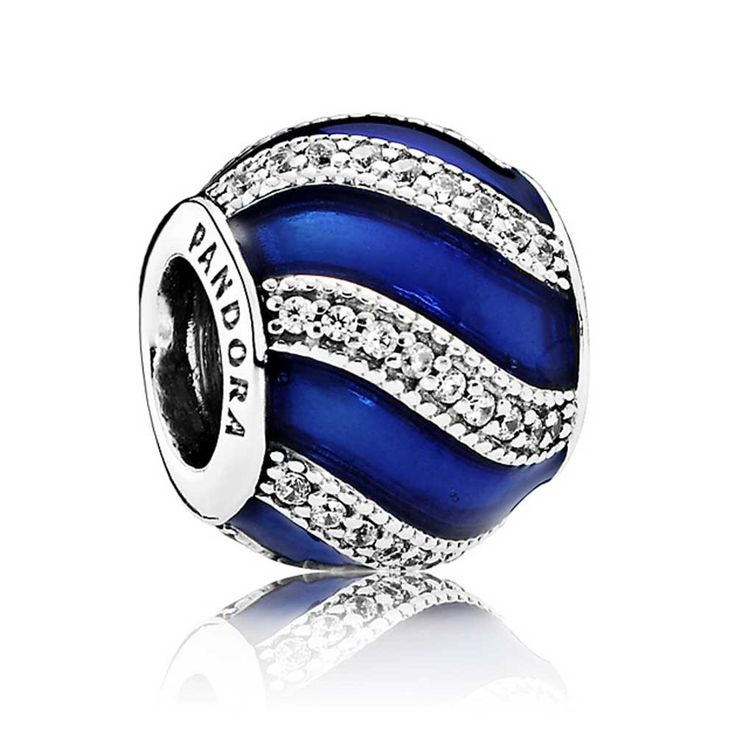 Pandora Blue Adornment Charm 791991EN118 | The Jewel Hut