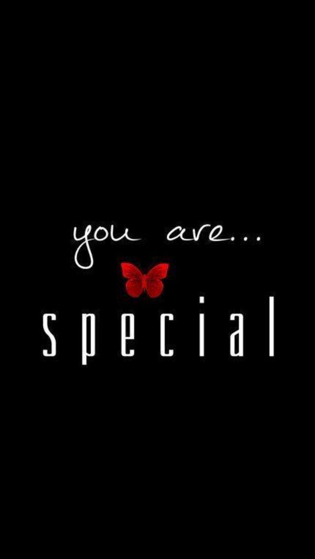 You are special ஜღ Ƹ̵̡Ӝ̵̨̄Ʒ ღஜ #butterfly