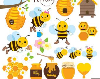 Honey Bee Clipart Bees Clip Art