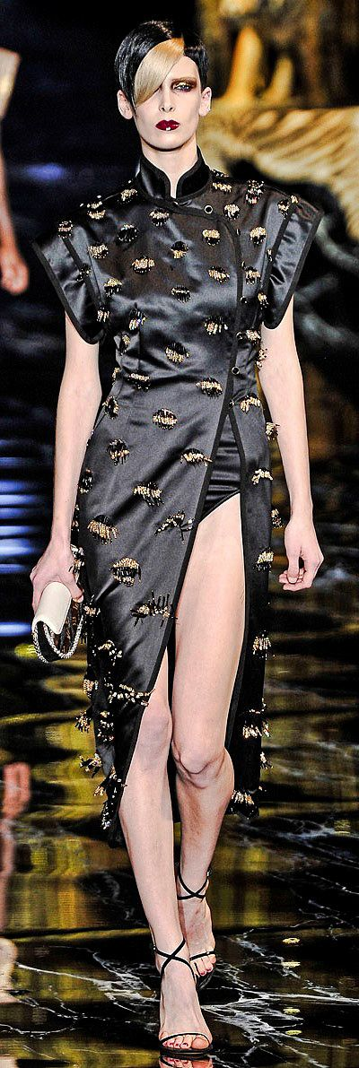 Cheongsam style by Marc Jacobs for Louis Vuitton