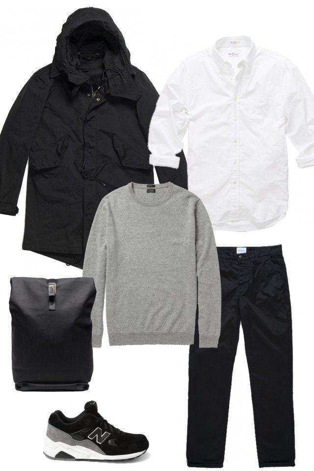 Куртка Ten C Брюки Norse Projects Рубашка Gant  New Balance Свитер J. Crew Рюкзак Pickwick   http://appstore.com/app/goodlook