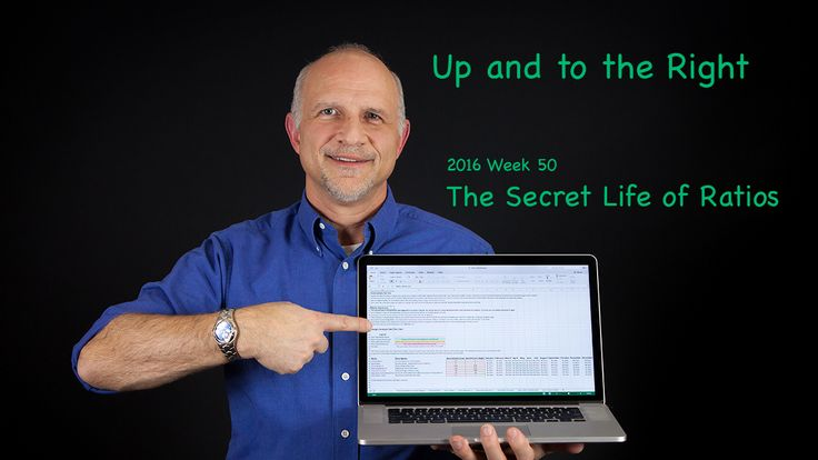 In the 2016 Week 50 episode of Up and to the Right we'll learn the Secret Life of Ratios and how they can be used to operate and improve your small business.  The tool this week is a ratio analysis calculator. All you have to do is download it from beyond50percent.com/2016w50 and enter 12 values from your own financial statements. Ratio analysis just got easy!  In the Reading Room this week I'm recommending The Dip by Seth Godin.