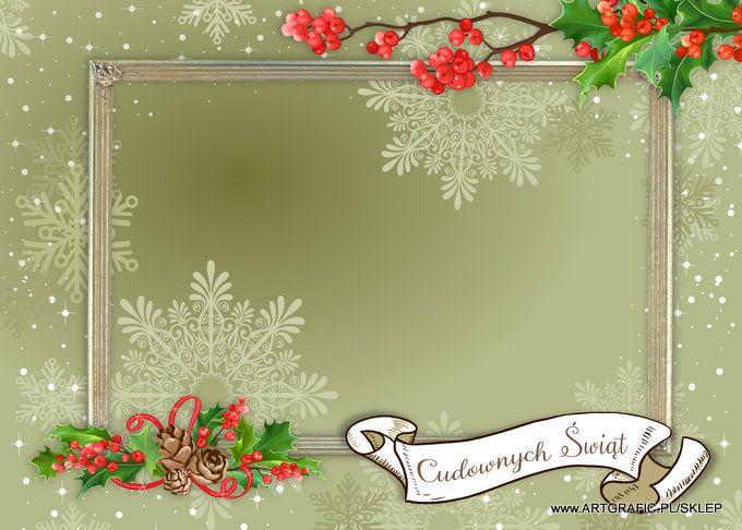 Foto Kartka - Boże Narodzenie 19 [PSD wielowarstwowy]