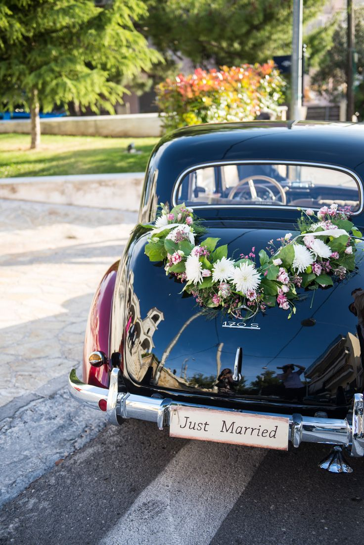 18 best Wedding Classic Cars Greece images on Pinterest | Classic ...