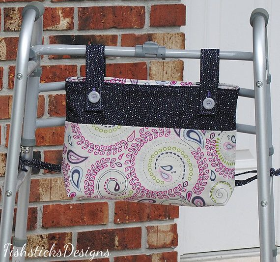 Walker Or Wheelchair Mobility Caddies And Bags Sewing
