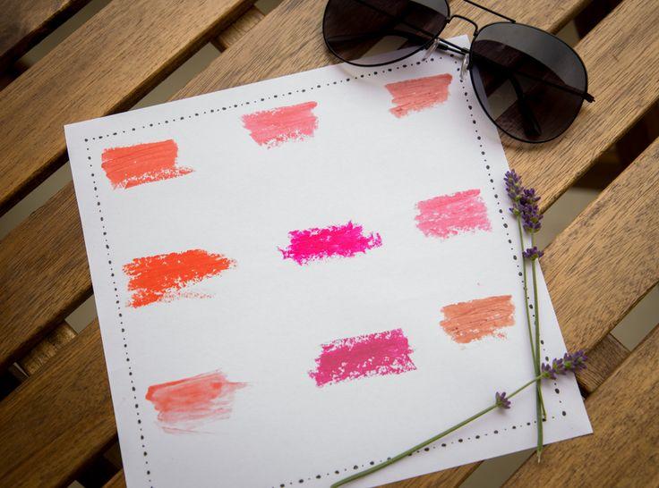 Meine liebsten Sommerfarben für die Lippen https://ausgefuchst.herfter.com/