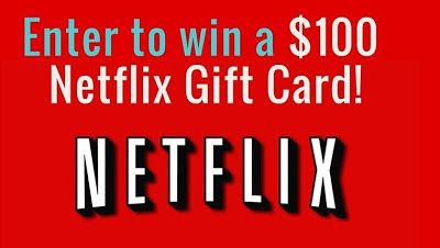 Gain access to movies and television shows the whole family will love when you get a $100 Netflix gift card.   Right now you can ge... https://garbitfree.blogspot.com/2017/08/100-netflix-gift-card-giveaway.html