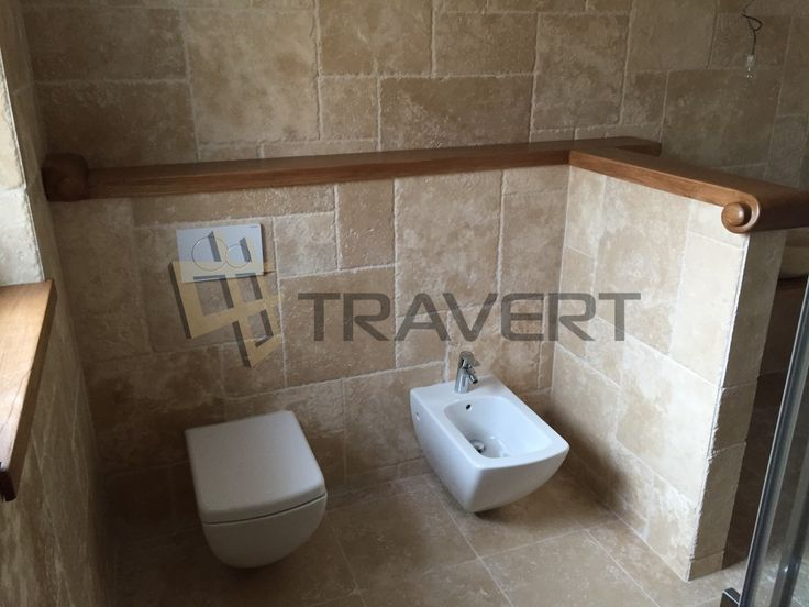 Nadčasová kúpeľňa z travertínu so sekanými hranami | Travert  s.r.o.  http://travert.sk/referencia/nadcasova-kupelna-z-travertinu-zo-sekanymi-hranami