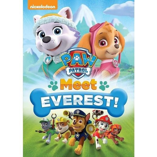 PAW Patrol: Meet Everest! (DVD) $8