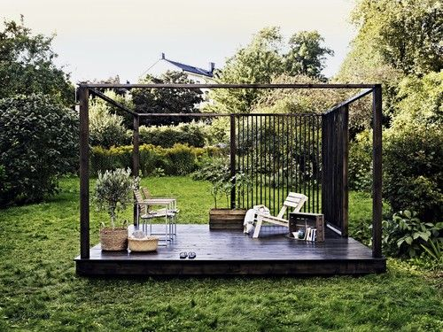 Outdoor room inspiration #modern landscaping design #mornington peninsula