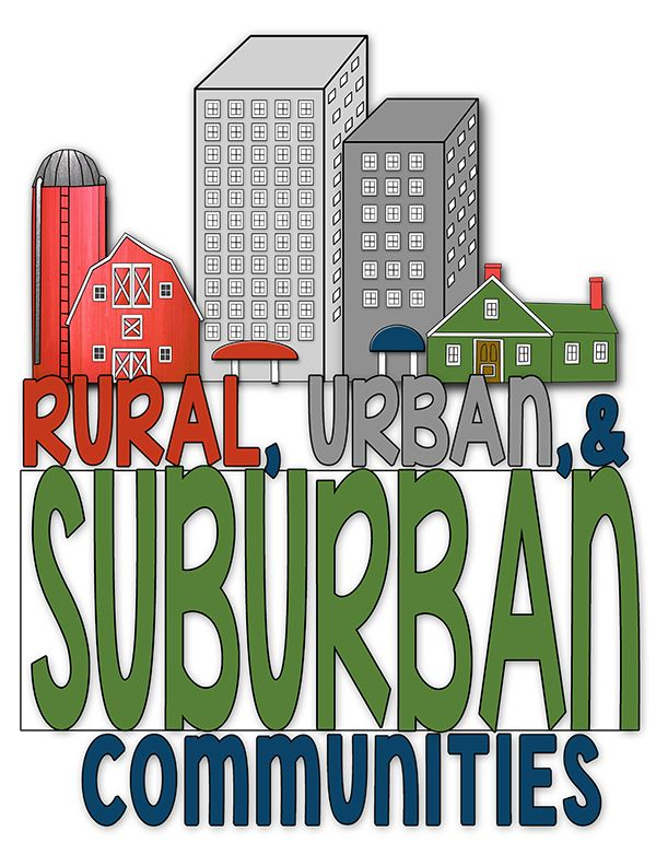 "Ready to teach about Rural, Urban, & Suburban Communities? If so, check this out! It is a FUN and Interactive flip flap book for your students to ""Show What They Know"" about the three different types of communities!$"