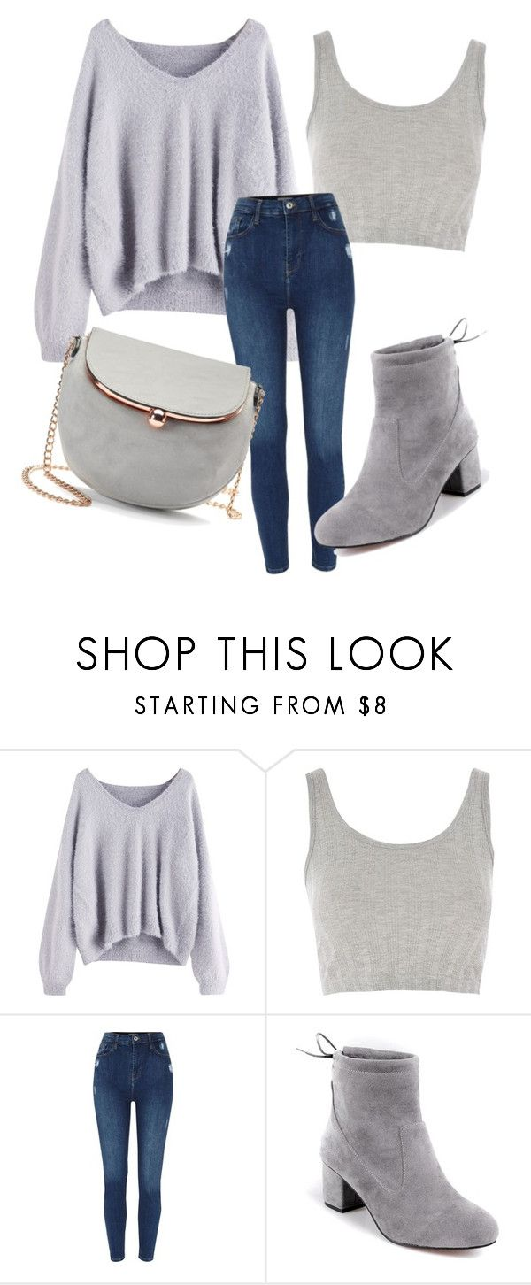 """""""Casual"""" by michellesfashioncompany ❤ liked on Polyvore featuring Topshop and LC Lauren Conrad"""