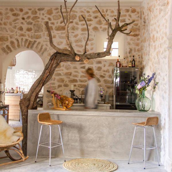 The pinkpepper tree | klein hotel met zwembad Mallorca