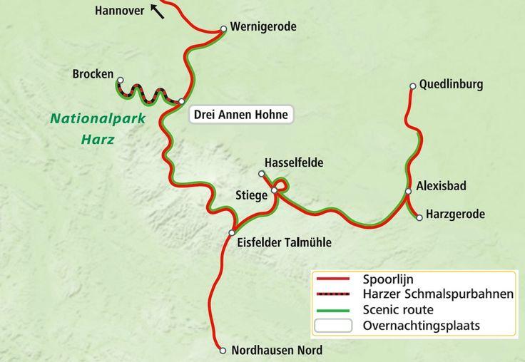 Stoomtreinen in de Harz