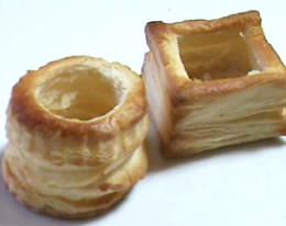How to make Vol au Vent Cases Video