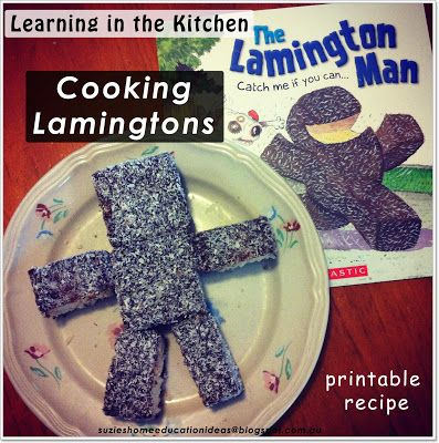 I love how this post explored reading, matn and cooking after reading the book the Lamington Man