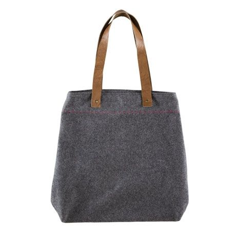 Carry Me Tote Bag For Real Living Grey #reallivingxfreedom