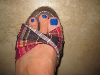 pedicures and sandals